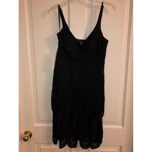 "Sue Wong black ""flapper"" dress"